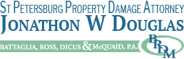 St Petersburg Property Damage Attorney Jonathon W Douglas Logo