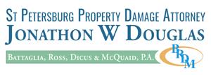 St Petersburg Property Damage Attorney Jonathon W Douglas Logo